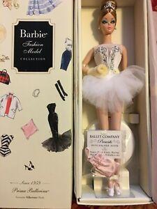 NRFB Barbie BFMC Silkstone Prima Ballerina 2009 Gold Label