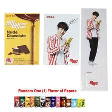 Chanyeol EXO EXO-K EXO-M Lotte PhotoCard + Pepero 1EA + Chan Yeol Standing Photo
