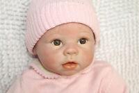 "22"" Reborn Baby Doll Cute Realistic Handmade Girl Newborn Lifelike Soft Vinyl"