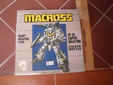 Macross VF-1S Valkyrie Focker Special model kit VINTAGE sealed inside ARII 1:170