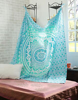 Queen Indian Decor Mandala Tapestry Wall Hanging Hippie Throw Bedspread-Bohemian