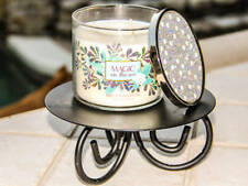 Bath & Body Works 3 Wick Candle | Magic in the air (Jewel & Pearl en relief couvercle)