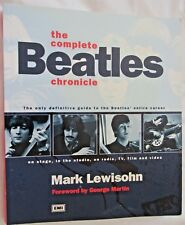 The Complete Beatles Chronicle by Mark Lewisohn ON STATE, IN THE STUDIO TV FILM