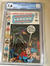 Justice League of America #79 CGC 7.0 NEAL ADAMS Cover DC Comics 1970.