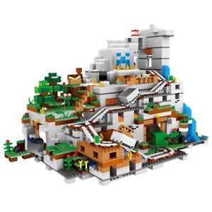 Minecraft Series The Mountain Cave Building Blocks 2688pcs Bricks set toys gifts