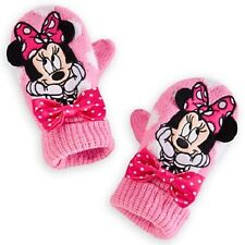 MiNNiE MoUsE~PINK~MITTENS~Gloves~Girls ONE SIZE~NWT~Disney Store-2013
