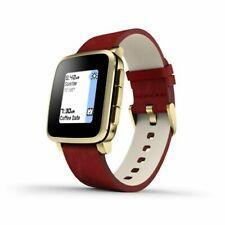 Pebble Time Steel Smart Watch Smartwatch Rot - NEU OVP