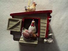 "JWM ""HEN HOUSE"" Ornament  ~ NEW ~  ADORABLE!!!!"
