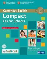 Compact Key for Schools Student's Book without Answers with CD-ROM with Testbank