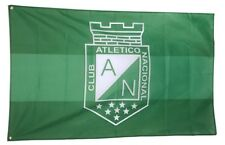Atletico Nacional Flag Banner 3x5 ft  Futbol Soccer Bandera Medellin Colombia