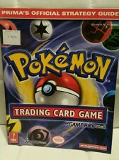 NEW Pokémon Trading Card Game Official Strategy Guide Book   GameBoy