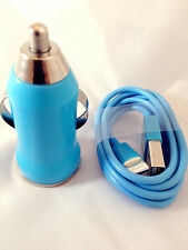 New 2 IN 1 CAR CHARGER   USB DATA CABLE FOR iPhone 5 5C 5S 6 6plus ipod touch UK