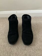 Camper Black Suede Ankle Boots Size 39/6