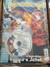 Animania Comic Heft mit DVD 10/2008 NEU eingeschweißt deutsch