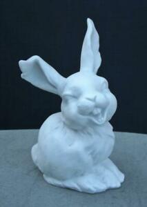 Kaiser Laughing Bunny Rabbit Easter Bisque Figurine 554 Germany Mint Condition