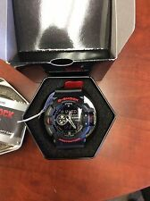 New Casio GA400HR-1A G-Shock Rotary Black/Red Ana-Digital Men's Watch