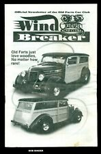 MAY 1998 WIND BREAKER OLD FARTS CAR CLUB OFFICIAL NEWSLETTER
