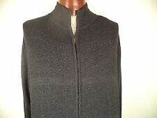 Alan Flusser. M. Black. 60% Cotton / 20% Rayon / 20% Nylon. Long Sleeve.Oil Heat