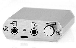 NEW Meier Audio CORDA PCSTEP USB-DAC Portable Headphone Amplifier Silver