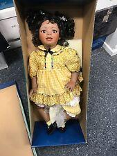 Amy Burgess Künstlerpuppe Porzellan Puppe 72 cm. Top Zustand