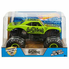 Gas Monkey Garage Monster Jam Truck 25th 1/24 Scale Diecast Hot Wheels 2017 RARE
