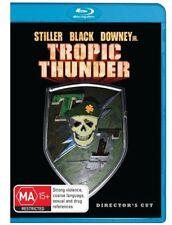 Tropic Thunder (Blu-ray, 2008) Ben Stiller Brand New Sealed Free Shipping