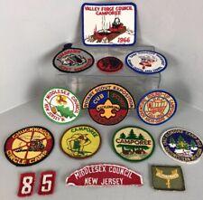 Vintage 1960's Boy Scout Patches BSA Lot of 15 EUC!!!