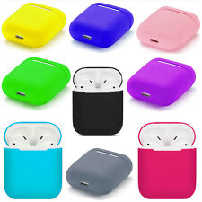 Silicone Protective Airpods Case Slim Skin Cover For Apple AirPod Earphones
