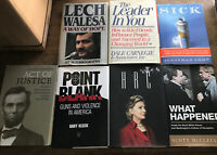 Hardcover Nonfiction Book Lot (7 Books)