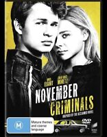 November Criminals DVD : NEW