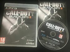 CALL OF DUTY BLACK OPS II 2 PS3 SONY PLAYSTATION 3 GAME! WITH MANUAL. PAL
