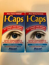 Alcon ICaps Lutein 10mg - 60 Tablets (2 pack x 30) Eye Medicine Capsules Tablets
