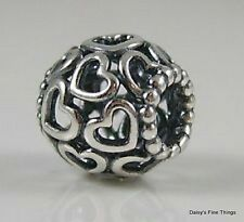 NEW! AUTHENTIC PANDORA SILVER CHARM BUTTERFLY GARDEN #790895