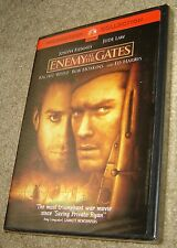 Enemy at the Gates (DVD, 2001, Sensormatic), NEW & SEALED, WIDESCREEN, REGION 1