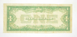1928 $1.00 Funny Back - Silver Certificate - Monopoly Money - Collectible *687