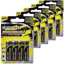 12 x lampe solaire jardin lumière AA 800 mAh NiMH Prêt à Utiliser Des Piles Ultra Max