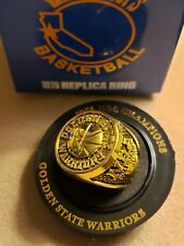 GOLDEN STATE WARRIORS 1975 NBA CHAMPIONSHIP RING REPLICA ORACLE SGA BASKETBALL