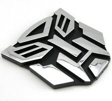 3D Car Sticker Logo Protector Autobot Transformers Emblem Badge Graphics Decal