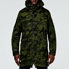 NWT $400 G STAR RAW Polar Hooded Rain Parka Sz XL