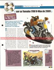 YAMAHA V-Max 1700 2009 Vmax Joe Bar Team Fiche Moto #008514