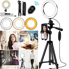 LED Studio Ring Light Stand Dimmable Light Photo Video Lamp For Camera Phone G3