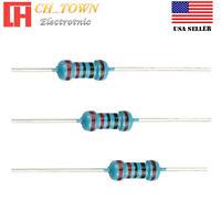 100PCS 1//4W Watt 120K ohm Metal Film Resistor 0.25W 1/% RoHS