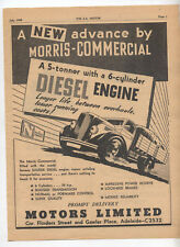 Morris Commercial 5 Tonner Truck Advertisement removed from a 1949 Magazine