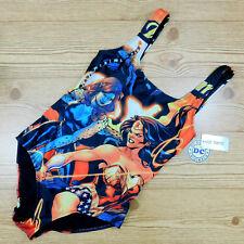 DC Comics Wonder Woman & Cheetah Bathing Suit Swimsuit NEW Hot Topic Women's M