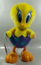 Hallmark Tip N Fall Tweety Bird Sound Motion Looney Tunes Easter Plush Egg 2014