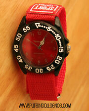 Sport Watch - Nylon band Red - Unisex
