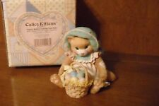 Enesco Calico Kittens - Easter Wishes Coming Your Way