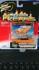 """Johnny Lightning """"Street Freaks"""" '59 Cadillac Convertible Carded."""