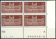 South Africa 1977 SG#413 Transvaal Supreme Court MNH Block #E9358