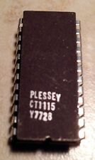 Plessey CT1115 MOS Frequency Synthesizer - NOS - Rare !